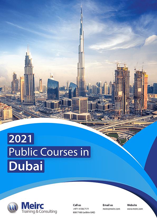 2021 Public Courses in Dubai