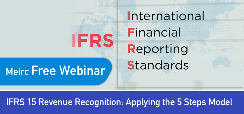 IFRS 15 Revenue Recognition: Applying the 5 Steps Model