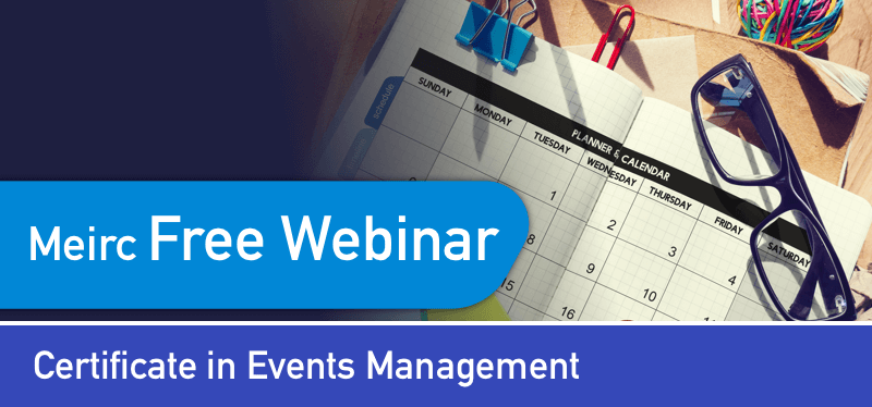 Certificate in Events Management