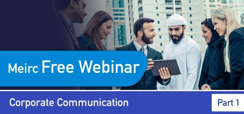Corporate Communication Webinar
