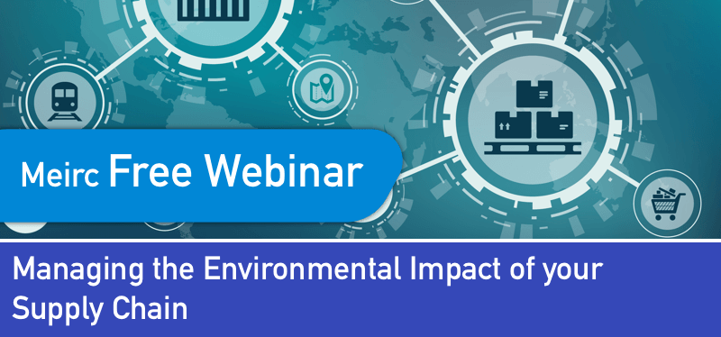 Managing the Environmental Impact of your Supply Chain