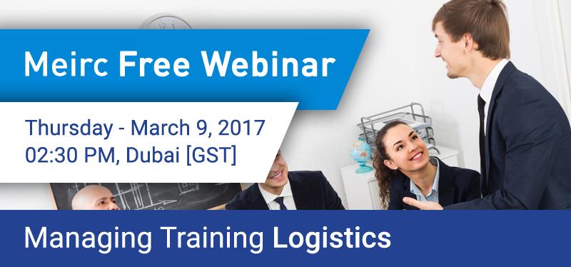 Managing Training Logistics