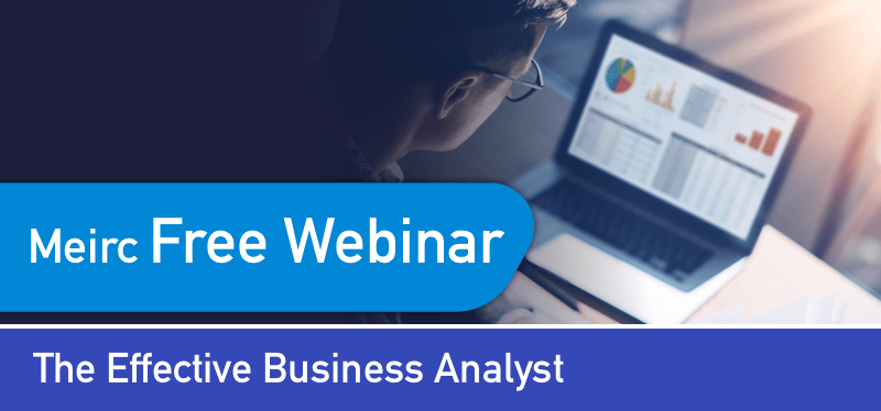 The Effective Business Analyst